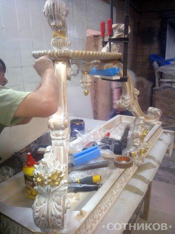 Реставрация мебели в Москве