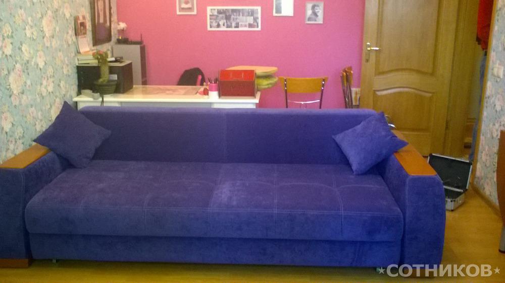 Обивка и перетяжка мягкой мебели на дому