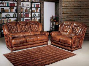 Восстановление кожанной мебели